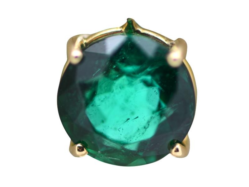 buona reputazione design distintivo qualità e quantità assicurate Orecchini smeraldi e diamanti Massoni - Massoni & Massoni - Roma