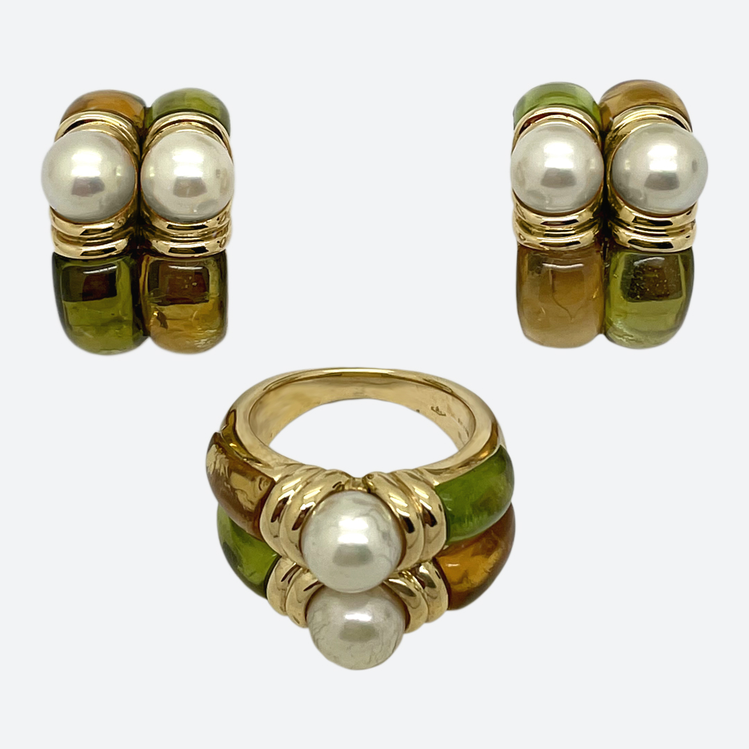 Bulgari perle e colori parure