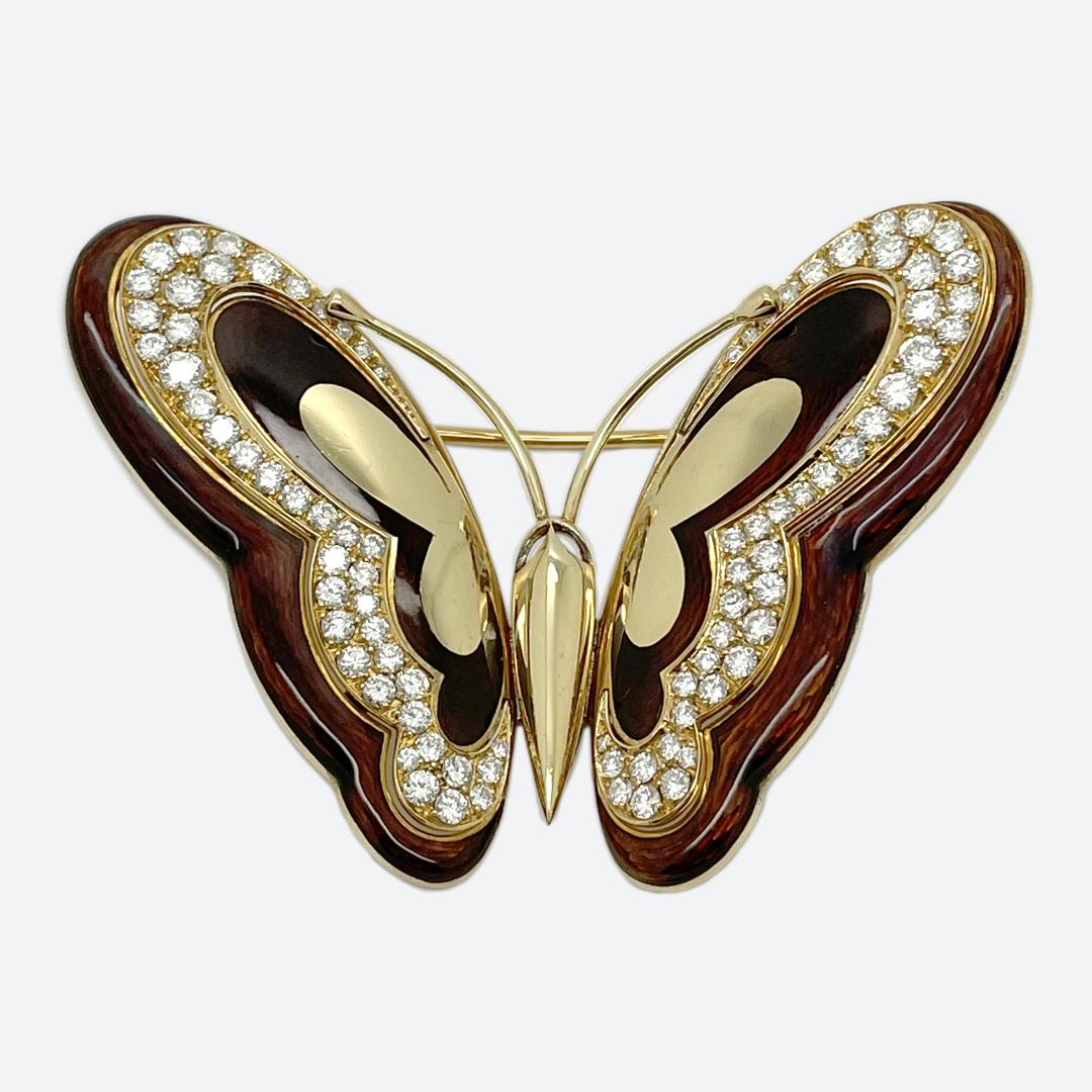 Spilla farfalla Bulgari