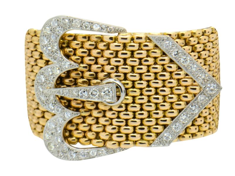 Bracciale oro e brillanti Chaumet