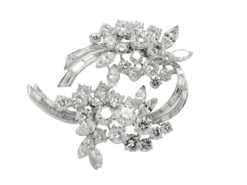 Spilla diamanti Massoni